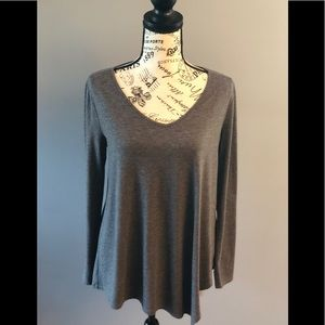 White House Black Market asymmetrical top